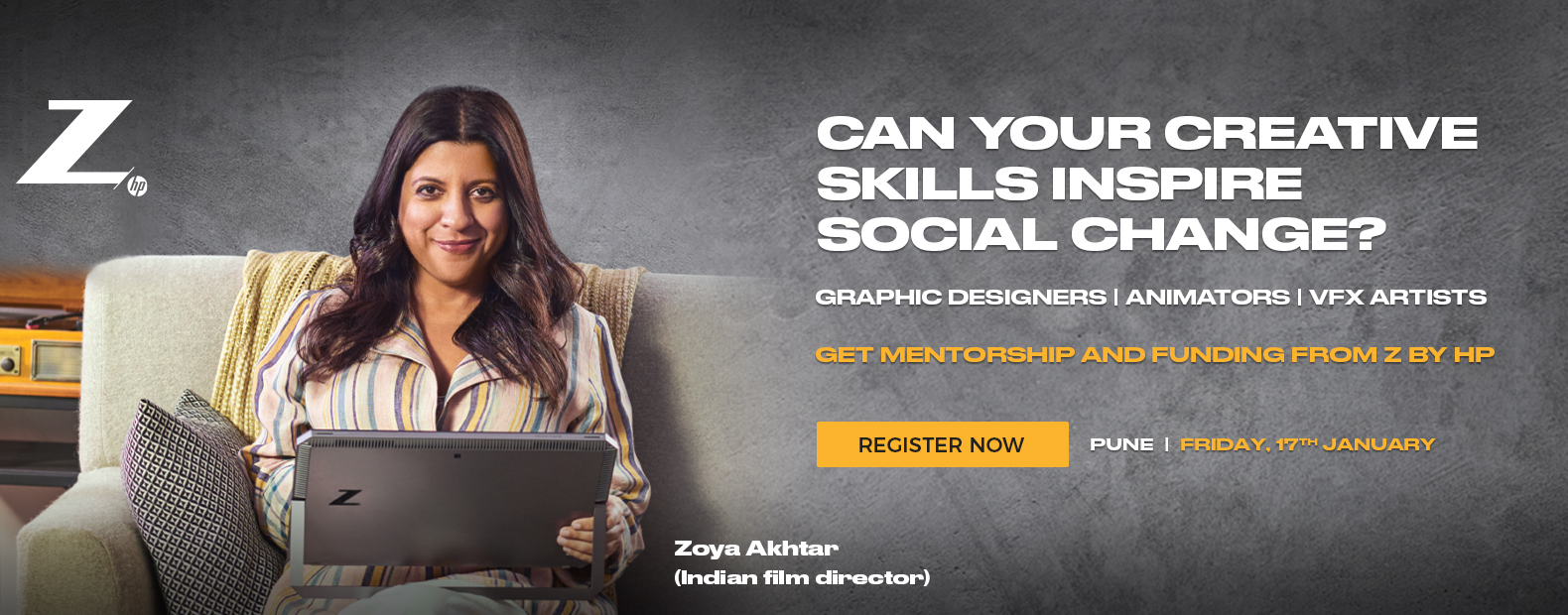 REGISTER NOW | PUNE | FRIDAY 17th JANUARY