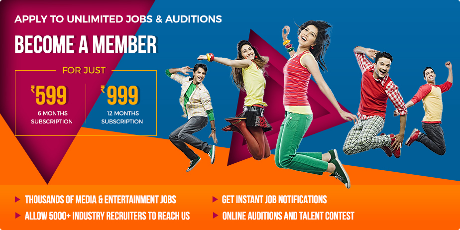 Apply to unlimited jobs & auditions