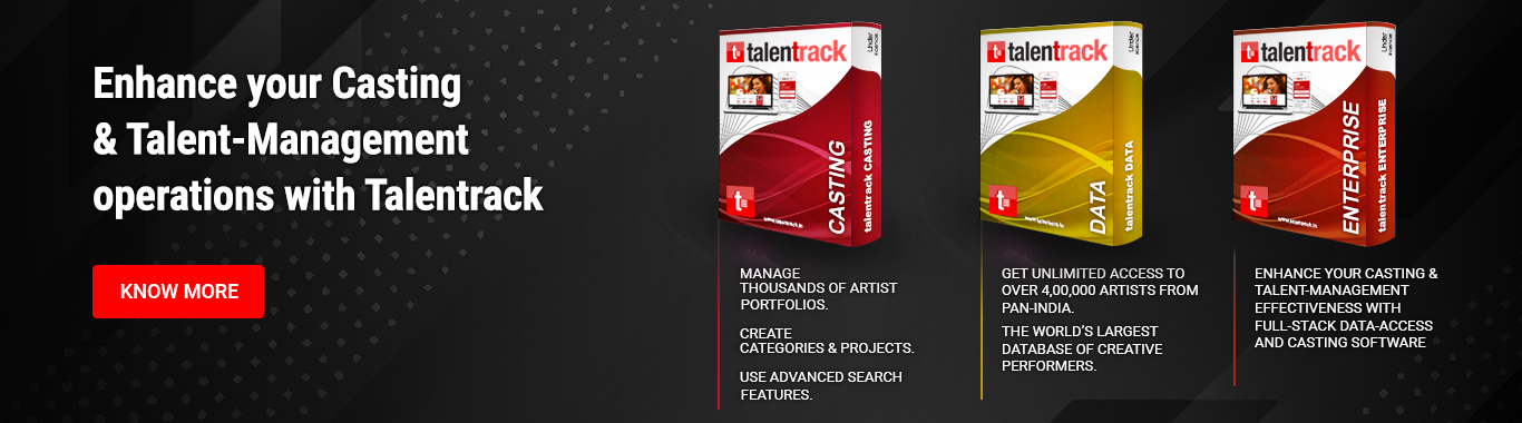 Enhance your Casting & Talent-Management operations with Talentrack, KNOW MORE