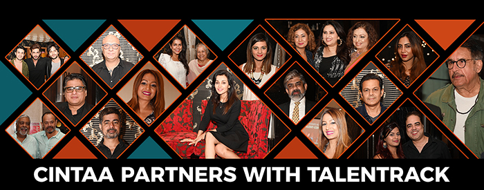 CINTAA PARTNERS WITH TALENTRACK
