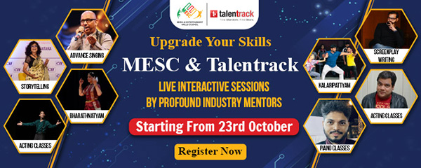 MESC & Talentrack Presents LIVE INTERACTIVE SESSIONS BY PROFOUND INDUSTRY MENTORS