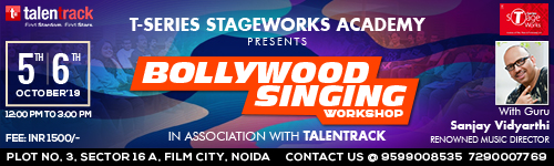 BOLLYWOOD SINGING WORKSHOP