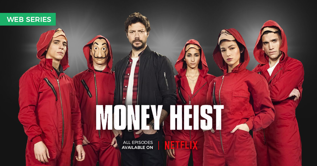 The Netflix series, Money Heist, is addictive for its intelligent plot and builds a compelling narrative on emotional dynamics and interpersonal relationships. Read the full review on Talentown.